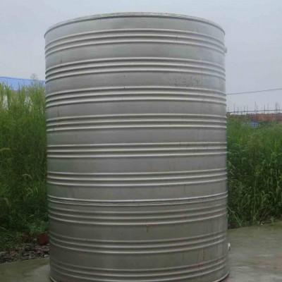 不锈钢圆柱形双层保温水箱 304太阳能空气能容器家用水箱